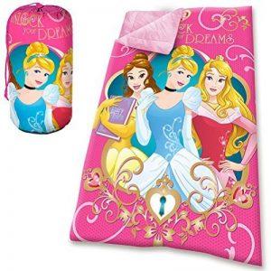 KIDS EUROSWAN Sac de couchage avec motif princesse, polyester, rose, 70X140 CM de la marque KIDS EUROSWAN image 0 produit