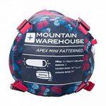 Mountain Warehouse Sac de couchage Enfant randonnée camping Bivouac Apex Mini Sarcophage Momie de la marque Mountain Warehouse image 4 produit