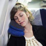 Oreiller de voyage BCOZZY avec support pour le menton – soutient la tête, le cou et le menton pour un maximum de confort en position assise. Produit breveté. (MARINE, TAILLE ADULTE) de la marque BCOZZY image 6 produit