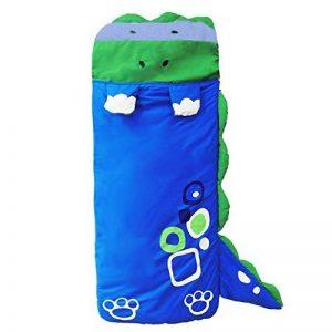 Sac de couchage avec coussin pour enfants 140x60cm DINGANG® bleu bleu de la marque DINGANG image 0 produit