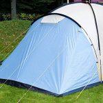 SKANDIKA 8 Toronto 8-Tente Familiale d&OcircMe-8 590x590 cm Mixte, Bleu/Beige, 8 Persons de la marque SKANDIKA image 3 produit