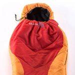 skandika Shetland Junior - Sac de couchage enfant momie - 175 x 70 cm - Orange/Rouge de la marque SKANDIKA image 6 produit